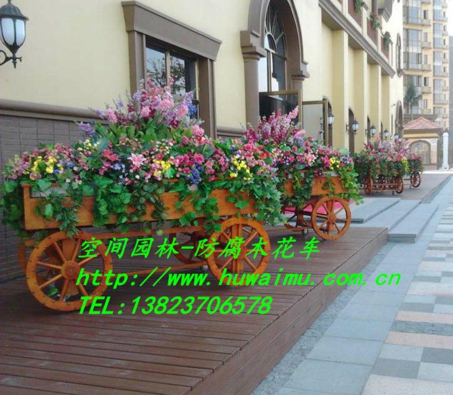 欧式花车-木质花车-深圳市联点空间景观有限公司